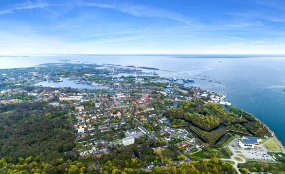 Gdynia - Bałtyjsk, zakupy na morzu