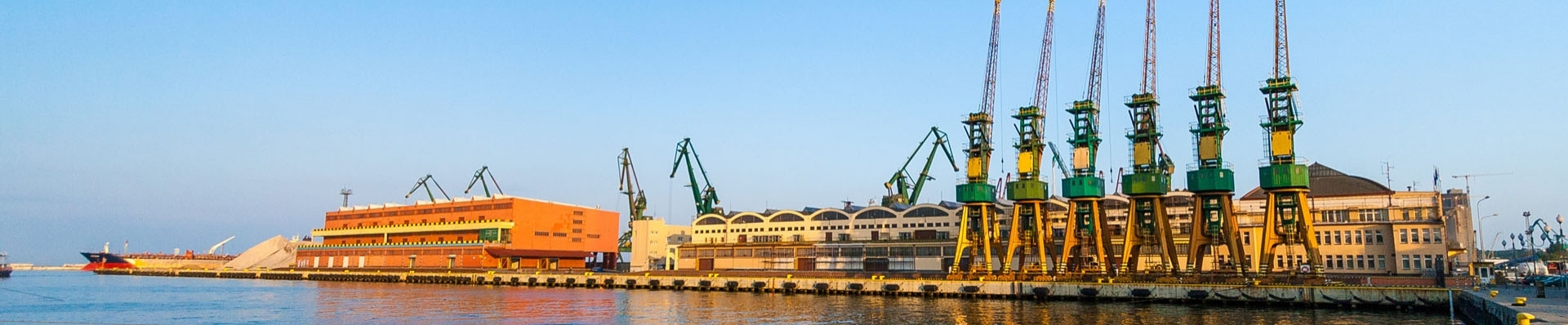 Sightseeing the Port of Gdynia